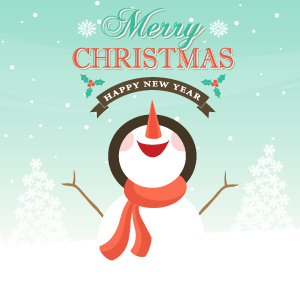 Christmas Card Example 8